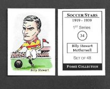 Motherwell Billy Stewart 34 (FC)